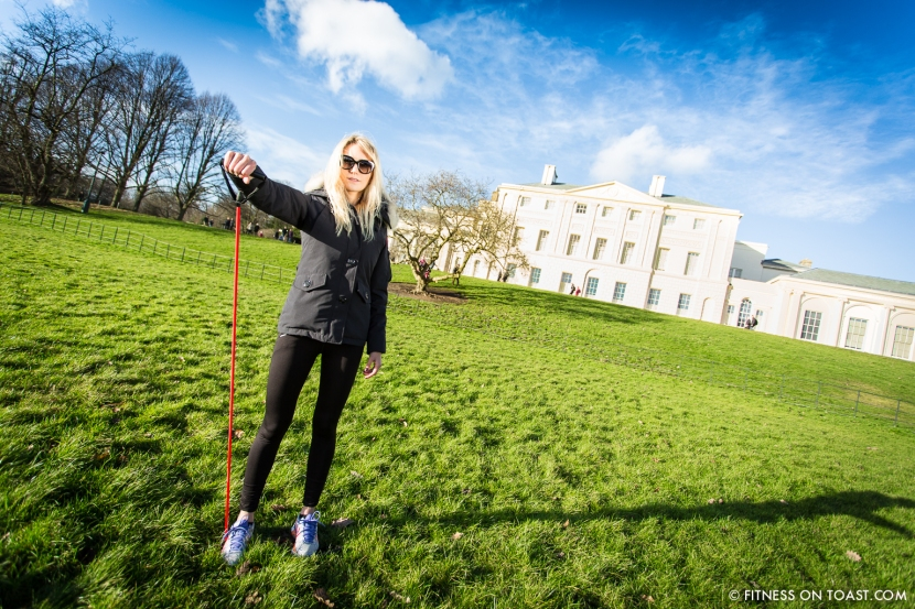 Fitness On Toast Faya Blog Sports Clothes Exercise and Fashion Post Kenwood House Sport Relief 2014 Charity Comic Relief Arm Rehab Resistance Band Exercises Strength Muscle