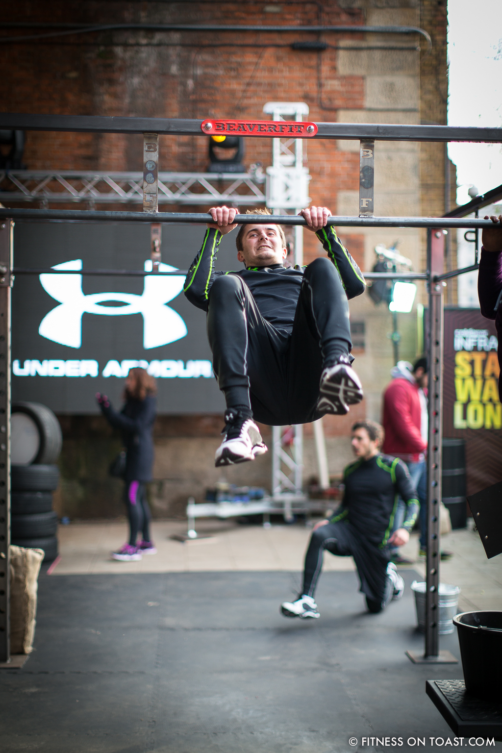 Gruelling Workout With Under Armour Fitness On Toast Com