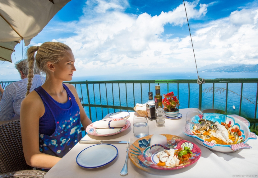 Fitness On Toast Faya Blog Girl Healthy Recipe Nutrition Health Cooking Fish Italy Sea Bass White Lemon Olive Oil Best Restaurant Caesar Augustus Capri Anacapri Breathtaking View Conde Nast Luxury Traveller Award Organic Garden Hotel Travel - main