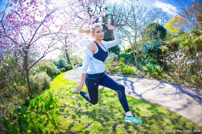 Fitness On Toast Faya Blog Girl Healthy Spring Into Fitness No Jiggle Regents Park London Location Shoot Fashion OOTD-4
