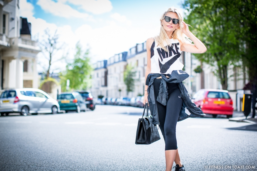 Fitness On Toast Faya Blog Girl London Urban Outfitters Fashion Nike Post OOTD Workout Uniform Outfit Clothes-14