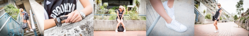 FITNESS ON TOAST FAYA BLOG GIRL HEALTHY WORKOUT STREET FITNESS FASHION LOOK CLOTHES OOTD GYM GEAR KIT STREET STYLE MONOCHROME-compilation