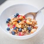Fitness On Toast Faya Blog Girl Healthy Recipe Granola Quinoa Steens Manuka Honey UMF
