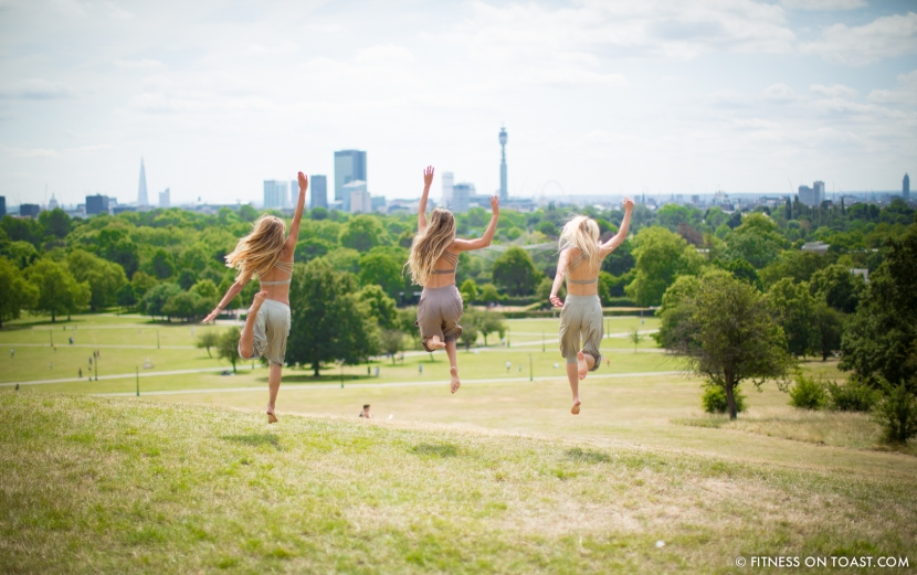 Fitness On Toast Faya Blog Girl Healthy Workout Yoga Lifestyle Fashion OOTD House of Dharma Kayleigh Carrie Bali Clothes Bohemian Look Primrose Hill London-17