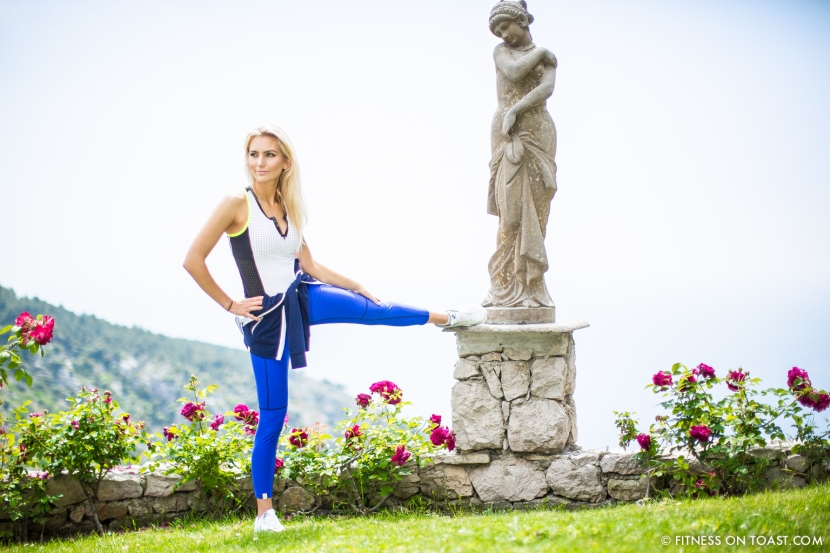 Fitness On Toast Faya Blog Healthy Food Fitness Fashion Workout Monreal OOTD Chevre D'Or France Eze Riviera Luxury Tennis Sportswear Active Look-6