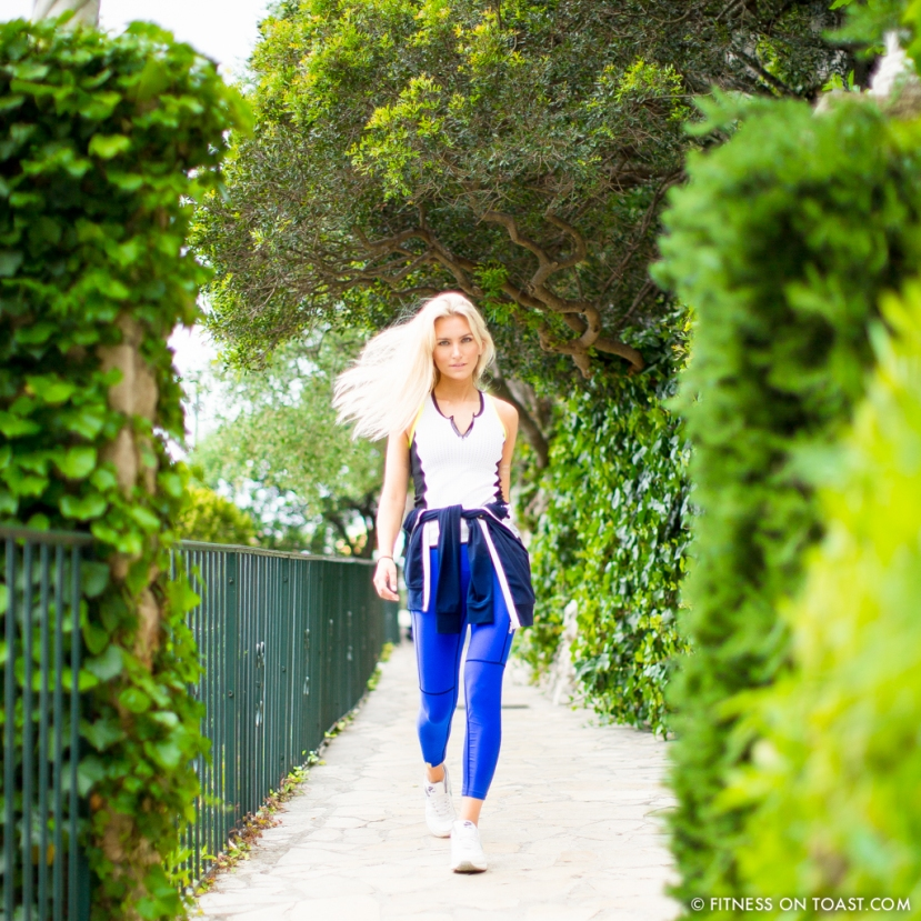 Fitness On Toast Faya Blog Healthy Food Fitness Fashion Workout Monreal OOTD Chevre D'Or France Eze Riviera Luxury Tennis Sportswear Active Look