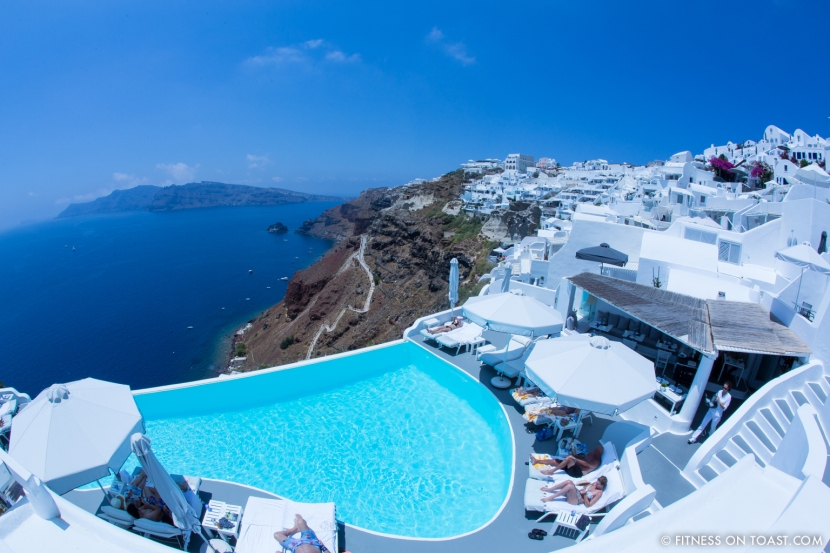 Fitness On Toast Faya healthy blog girl Katikies Hotel Travel Active Escape Luxury Holiday Fit Workout Health Retreat Detox Greece Santorini Tourism LHW-40