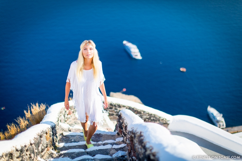 Fitness On Toast Faya healthy blog girl Katikies Hotel Travel Active Escape Luxury Holiday Fit Workout Health Retreat Detox Greece Santorini Tourism LHW-49
