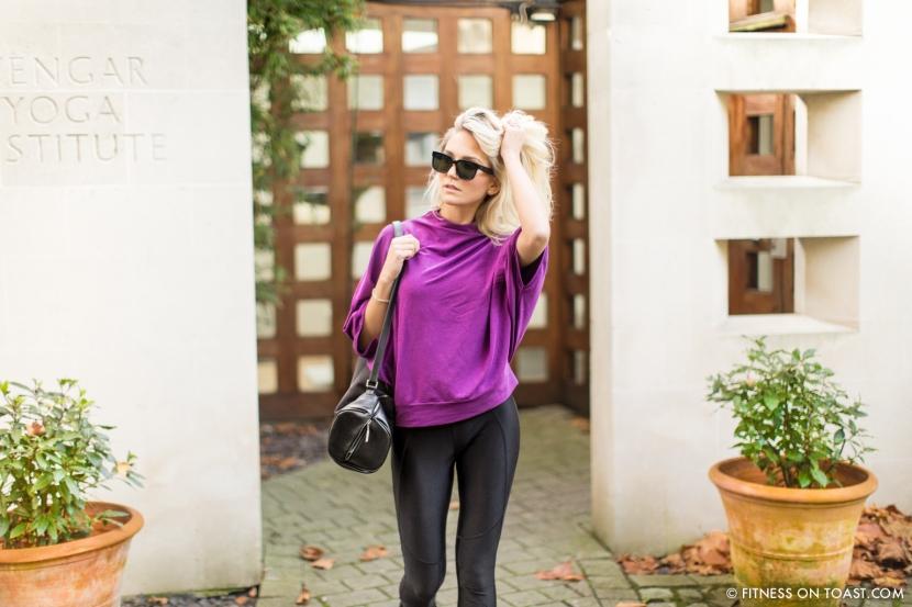 Fitness On Toast Faya Blog Girl Healthy Workout Exercise Yoga Iyengar Maida Vale Stance Sock Healthy Health-6
